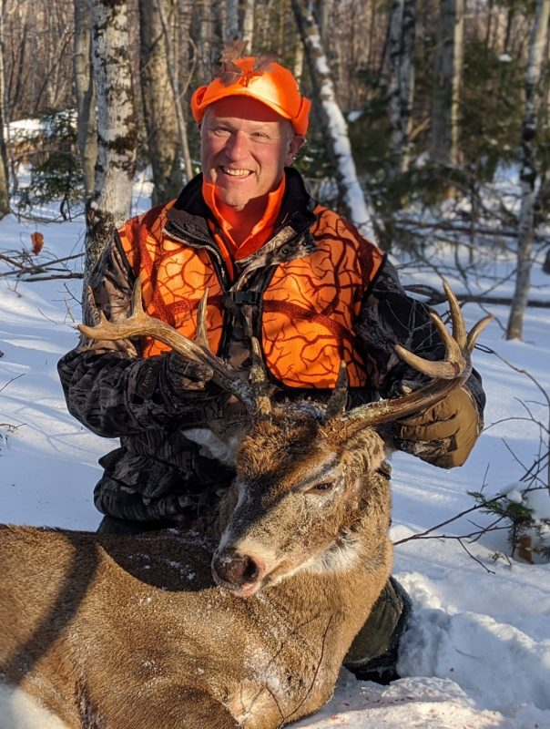 Wayne's 2019 buck: 202 lbs 10 pt